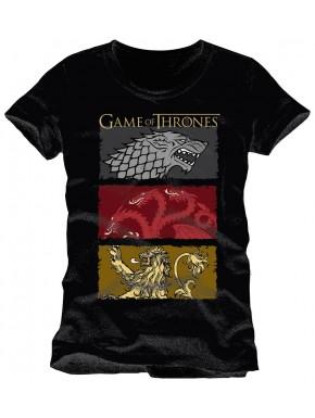 Camiseta Houses Juego de Tronos