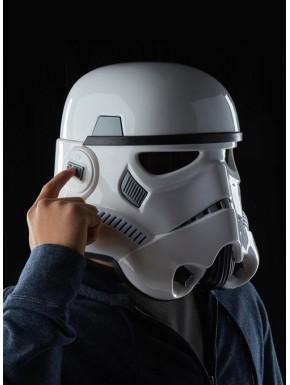 Casco Electrónico Stormtrooper Star Wars Black Series réplica
