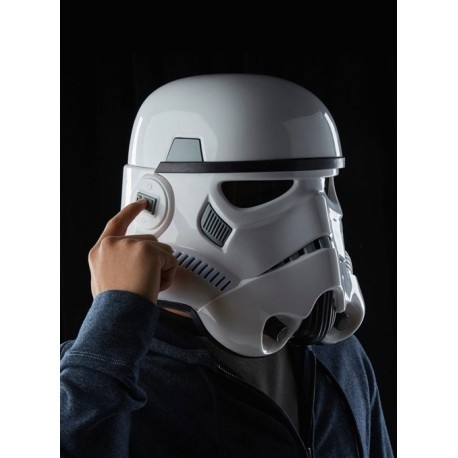 Casco Stormtrooper Rogue One Black Series
