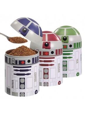 Tarros de cocina droides Star Wars