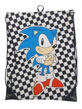 Bolsa tela gimnasio Sonic