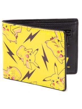 Cartera cremallera mosaico Pikachus