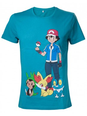 Camiseta Pokemon Ash