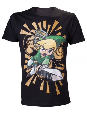 Camiseta Zelda Link Sword