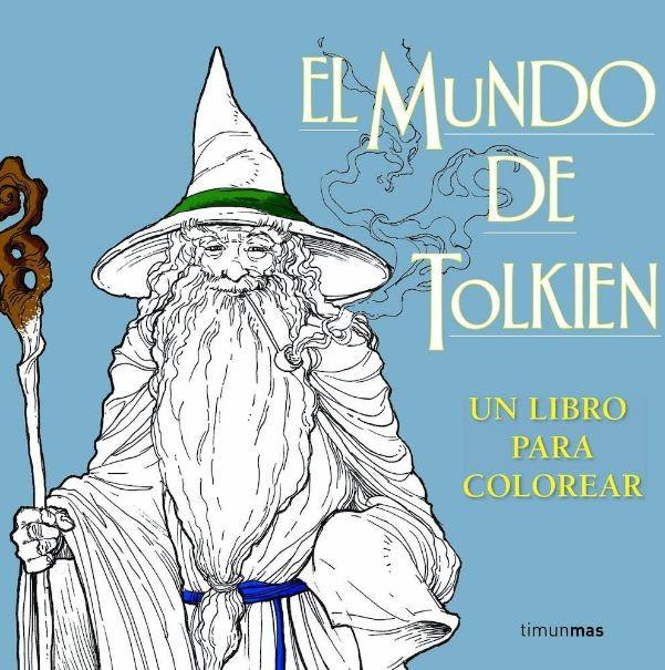 Libro para Colorear el mundo de Tolkien solo 19.90 - lafrikileria.com