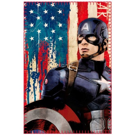 CIVIL WAR 2 Manta-polar-capitan-america-vintage