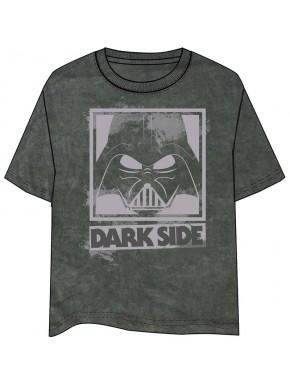 Camiseta gris Star Wars Vader