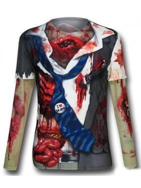 Camiseta Cosplay Zombie