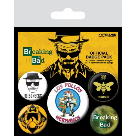 Chapas Breaking Bad Pollos Hermanos