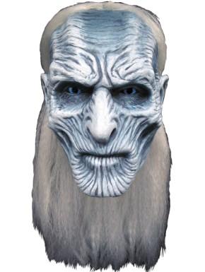 Máscara látex caminante blanco Juego de Tronos