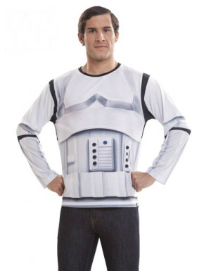 Camiseta Star Wars Stormtrooper hiperrealista