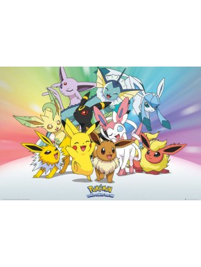 Poster Pokemon characters