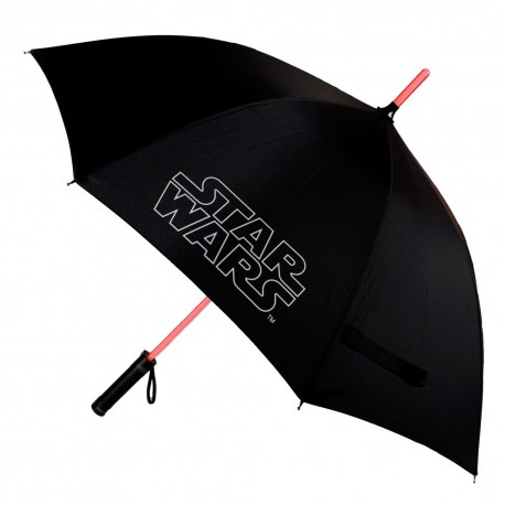 Paraguas Star Wars  Sable con luz