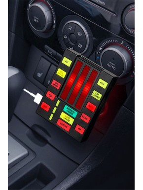 K.I.T.T. Knight Rider cargador USB para coche
