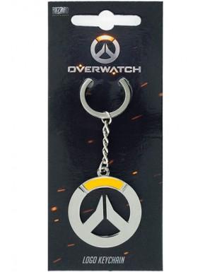 Overwatch Llavero metálico Logo