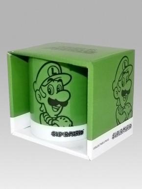 Taza Super Mario colors Luigi