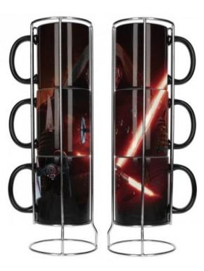 Set 3 tazas Kylo Ren Star Wars