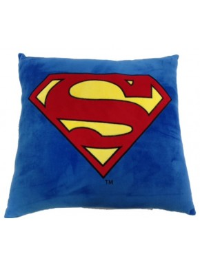 Cojín cuadrado Superman logo