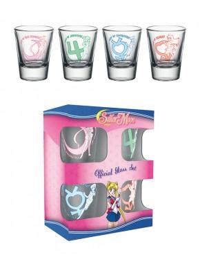 Sailor Moon Pack de 4 vasos de chupito