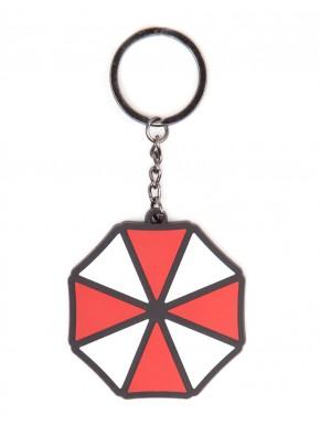 Llavero caucho Umbrella Resident Evil