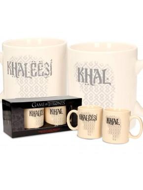 Duo tazas Khal y Khaleesi