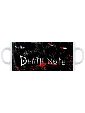 Taza Death Note red and blue