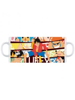 Taza One Piece Luffy colors