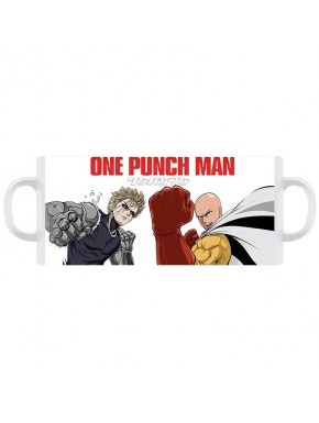 Taza One Punch characters