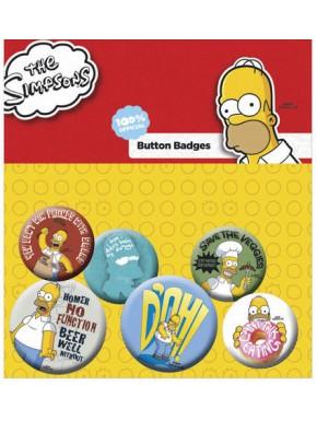 Chapas Mix Los Simpson