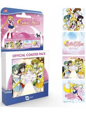 Set 4 posavasos Sailor Moon