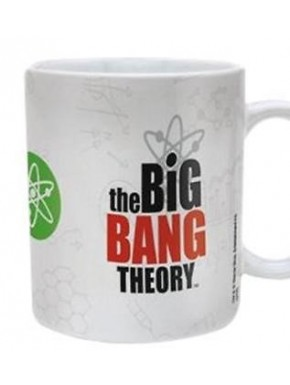 Taza Big Bang Theory characters