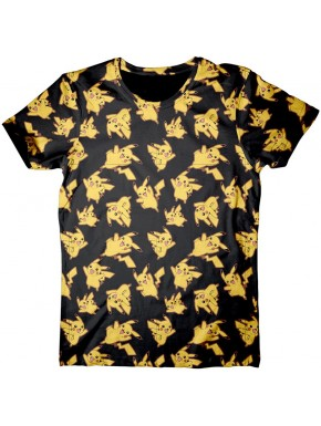 Camiseta Pokemon mosaic