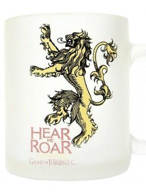 Taza cristal traslúcido Lannister