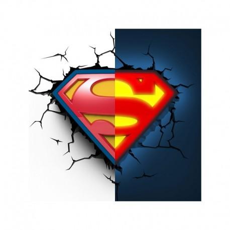 pared Lampara solo 50€ 44 por – Superman de bygvY6f7