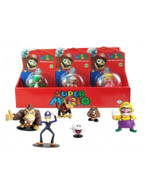 Super Mario Bros. Minifiguras 5 cm