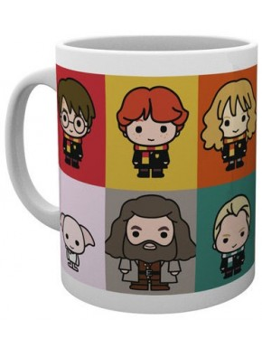 Taza Harry Potter Chibi friends