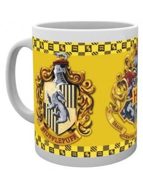 Taza Harry Potter Hufflepuff yellow