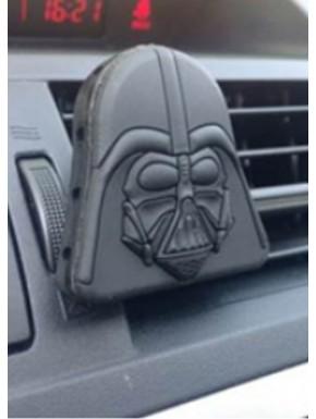 Ambientador rejilla coche Vader