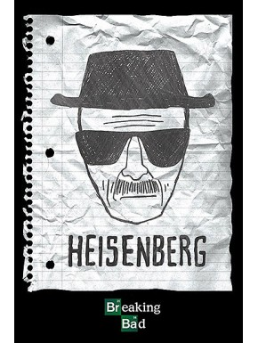 Poster Heisenberg Breaking Bad