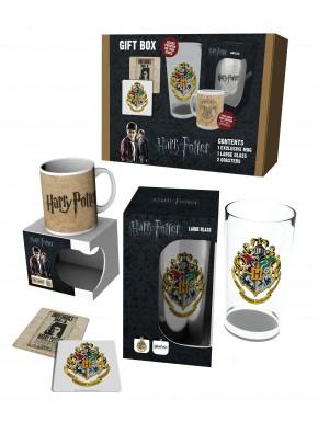 Set Harry Potter taza, vaso y posavasos