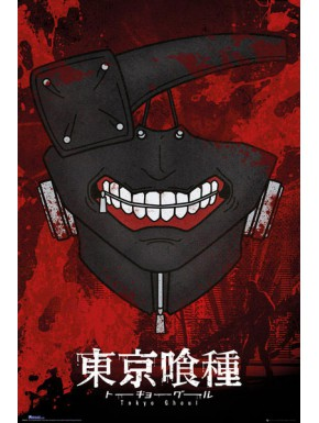 Poster Tokyo Ghoul Mask
