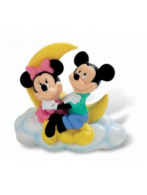 Hucha Mickey y Minnie Mouse 18 cm