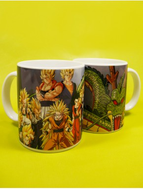 Taza Dragon Ball Saiyan