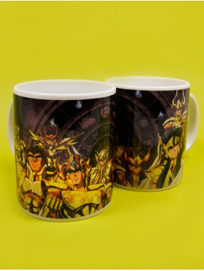 Taza Saint Seiya golden