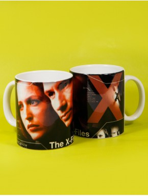 Taza Espediente X characters