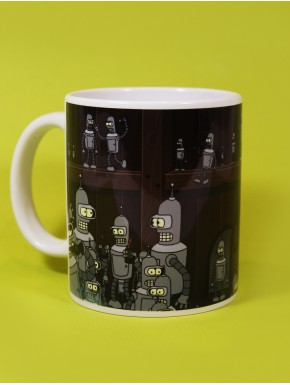 Taza Futurama Multi Bender