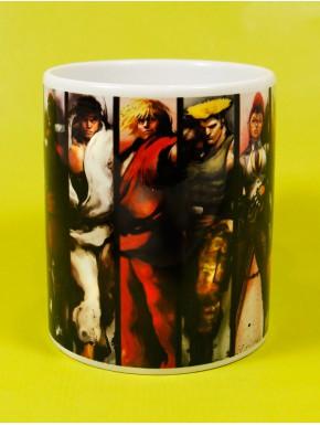 Taza Street Fighter fighters