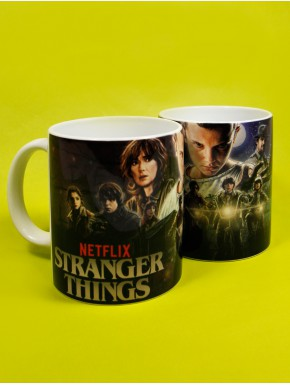 Taza Stranger Things characters