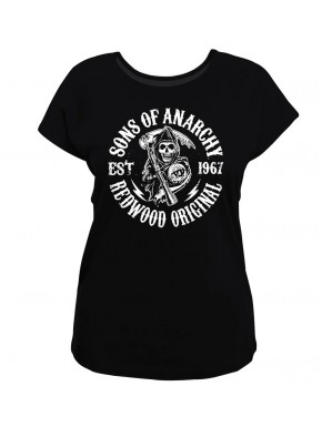 Camiseta chica Sons of Anarchy logo