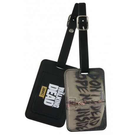 Etiqueta de equipaje Walking Dead